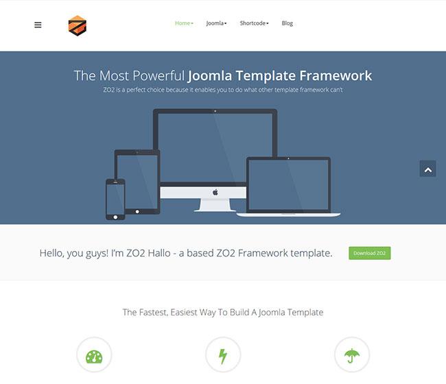 Joomla Corporate Template