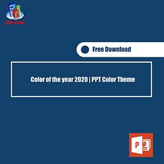2020 color theme cover
