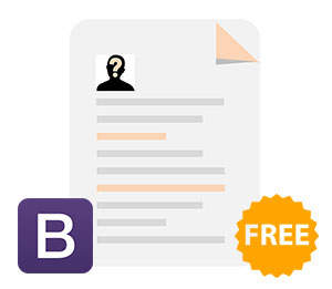 free bootstrap cover
